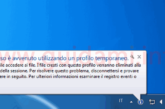 Errore profilo temporaneo Windows